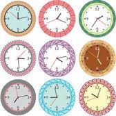 Vintage eski saat — Stok Vektör