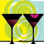 Drink & have fun. Vector illustration — Stock Vector