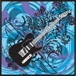 Electric Guitar design — Stock Vector #9254665