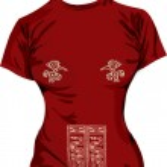 Ancient t-shirt illustration — Stock Vector