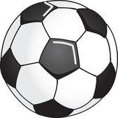 Soccer ball illustration — Stock Vector
