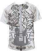 T-shirt illustration — Stock Vector