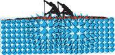 Canottaggio. illustrazione vettoriale — Vettoriale Stock
