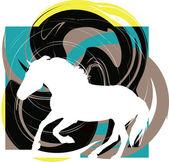 馬のベクトル図 — ストックベクタ