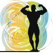 Bodybuilding — Stock Vector
