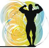 Bodybuilding — Vettoriale Stock