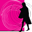 Businesswoman illustration - Vettoriali Stock