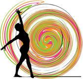 Ballet, ilustración vectorial — Vector de stock