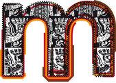 Fuente incas, ilustración vectorial — Vector de stock