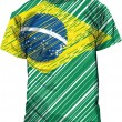 Brazilian tee, vector illustration - Stock Vector