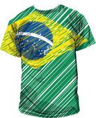 Brazilian tee, vector illustration — Stockvector