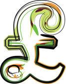 Ilustración de fuentes orgánicas. ilustración vectorial — Vector de stock
