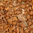 Stockfoto: Red stone and sand