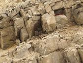 Wall of rocks — Stock Photo