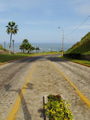 Stone way, Miraflores, Lima-Peru — Stock Photo