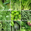 Stock Photo: Group of green vegetable