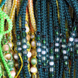 Ancient colorful Necklaces — Stockfoto