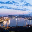 Royalty-Free Stock Photo: VLADIVOSTOK, RUSSIA - City outline 23 MAY 2012