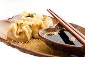 Dim sum Asian dumplings — Stock Photo