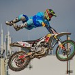 Stock Photo: Freestyle motocross