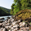 River Bzyb. Abkhazia — Stock Photo