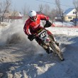 Winter racing — Foto de Stock