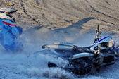 Moto Crash — Stock Photo