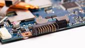 Laptop batterij stekker — Stockfoto