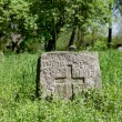 Pagan prehistorical grave — Stock Photo