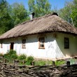 Ukrainian traditional hut - Stock Photo