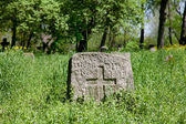 Pagan prehistorical grave — Stockfoto