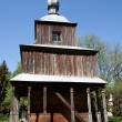 Obsolete wooden church — Stock Photo