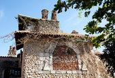 Stone house in altos de chavon — Stock Photo