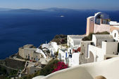 Colorful Santorini — Stock Photo