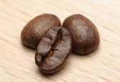 Three Coffe beans — Stock Photo