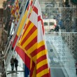 Catalonia flag — Stock Photo