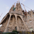 Stock Photo: SagradFamilicathedral outdoor view