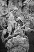 Holy Family sculpture at Sagrada Familia — Stock Photo