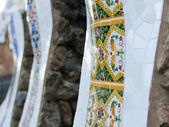 Parc Guell decoration detail — Stock Photo