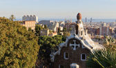 Barcelona view from the Parc Guell — Stock Photo
