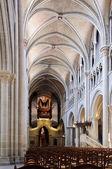 Navata cattedrale di losanna — Foto Stock