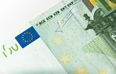 BCE and flag close-up — Stock Photo