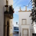 White houses in Otranto — Stock Photo #8925600