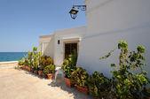 Mediterrean terrace — Stock Photo