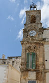 Clock tower in Italy. — Stock Photo