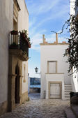 White houses in Otranto — Stock Photo