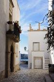 White houses in Otranto — Stock Photo