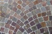 Symmetrical cobblestone texture — Stock Photo