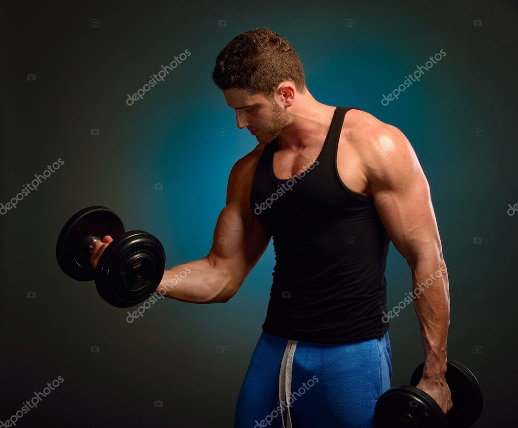 Athletic young man  Stock Photo #10626725