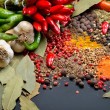 Colorful spices — Stock Photo #9037550